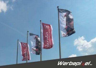 Flaggen für das Yanida